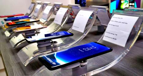 Aktuelle Smartphone zum Testen