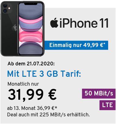 Iphone 11 mit Yourfone Vertrag