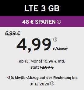 LTE 3GB
